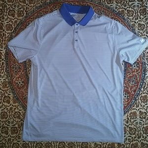 Nike Golf Striped Polo, XL, Standard fit